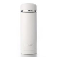 特美刻(TOMIC)保温杯 男不锈钢水杯子泡茶杯 1BBS1097U 380ML 白色