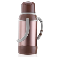 悠佳 鼎盛系列3.2L高档彩色不锈钢保温瓶热水瓶暖壶 开水瓶 保温壶超大容量 土豪金 ZS-9803-J
