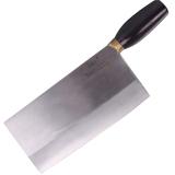 王麻子 4#碳钢菜刀 厨师斩切刀DA14-1