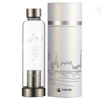 [京东下架品种]特美刻(TOMIC)玻璃杯 12星座系列柠檬水杯子泡茶杯 1BSB1167U 500ML 水瓶