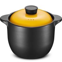 爱仕达 4.2L陶瓷煲砂煲砂锅炖锅煲汤 大容量汤煲 明火炖煲 甄陶高汤煲 RXC40B1QH