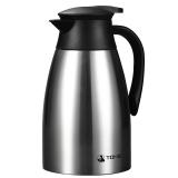 特美刻(TOMIC)保温壶 保温先生家用不锈钢保温瓶热水瓶暖壶1JBS2046 1.5L 本色