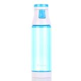[京东下架品种]特美刻(TOMIC)玻璃杯 双层玻璃内胆 炫彩水杯子 1BSB9506 蓝色