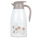 特美刻(TOMIC)保溫壺 家用不銹鋼保溫瓶保溫水壺1JBS2047 2L 白色