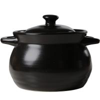 乐享 砂锅陶瓷健康养生汤煲5.3L大容量耐热沙锅陶瓷煲汤锅炖锅