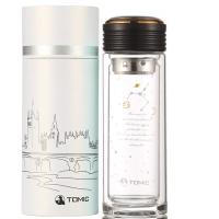 [京东下架品种]特美刻(TOMIC)玻璃杯 星座系列柠檬水杯子泡茶杯 1BSB9510 巨蟹黑