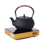 品茶忆友 功夫茶具套装 电陶炉茶炉铸铁茶壶煮茶套装 大粒子电陶炉套装