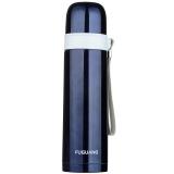 富光 户外运动旅行 时尚男女 子弹头经典不锈钢304保温杯 墨蓝色