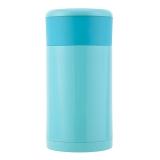 佳佰 750ml 不锈钢真空焖烧杯 焖烧壶  焖烧罐 粥桶 儿童保温壶 天蓝色(内含勺子和便携袋) JDTH-750-6