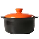 乐享 汤煲陶瓷健康养味深汤煲1.7L耐热砂锅汤韩式时尚炖锅