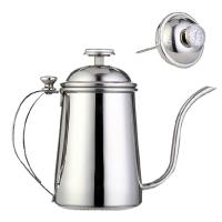 亚米(Yami) 不锈钢长嘴手冲咖啡壶 温度计细口壶 YM8051 500cc