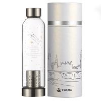 特美刻(TOMIC)玻璃杯 12星座系列柠檬水杯子泡茶杯 1BSB1167U 500ML 双子