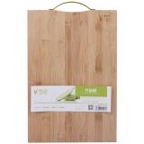 三月三 竹砧板 切菜板 水果板 ZB12(38cm*26cm*1.8cm) 商品包裝及顏色隨機發送
