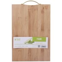 三月三 竹砧板 切菜板 水果板 ZB12(38cm*26cm*1.8cm) 商品包装及颜色随机发送