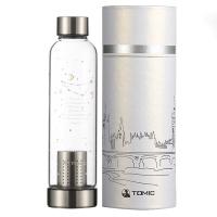 [京东下架品种]特美刻(TOMIC)玻璃杯 12星座系列柠檬水杯子泡茶杯 1BSB1167U 500ML 摩羯