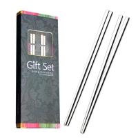阳光飞歌 304不锈钢筷子 韩式不锈钢实心扁筷子2双套装 1192
