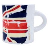 COSTA咖世家 英伦风情爱在伦敦 限量时尚骨瓷 陶瓷马克杯