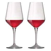波米欧利(Bormioli Rocco)意大利进口红酒杯高脚杯 550mL*2支装