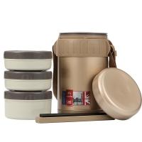 特美刻(TOMIC)保温饭盒 保温桶不锈钢焖烧杯提锅 1HBS3040 土豪金