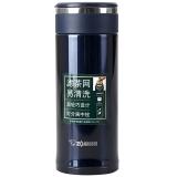 象印(ZOJIRUSHI)保温杯 340ml不锈钢真空办公水杯子带茶隔 SM-JTE34-AD