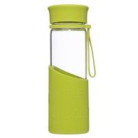 乐扣乐扣(locklock)硅胶杯套耐热玻璃水杯MyBottle MyColor绿色LLG673MG
