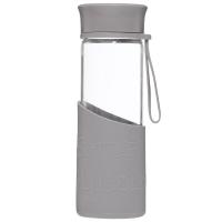 乐扣乐扣(locklock)硅胶杯套耐热玻璃水杯MyBottle MyColor灰色LLG673MGR