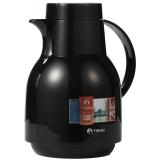 特美刻(TOMIC)进口保温壶 家用保温瓶热水瓶保温水壶玻璃内胆暖壶 KJ200 黑色 1L