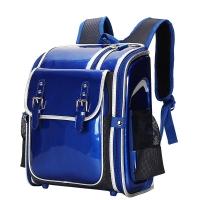 卡拉羊(Carany) 儿童书包小学生书包 减负男女学生日韩风双肩包CX2643宝蓝色