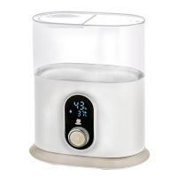 小白熊 婴儿双奶瓶消毒器多功能加热暖奶器HL-0888