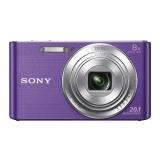 索尼(SONY) DSC-W830 数码相机 紫色(2010万有效像素 8倍光学变焦 25mm广角 全景扫描)