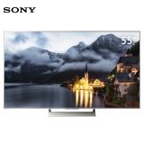 索尼(SONY)KD-55X9000E 55英寸4K HDR 精锐光控Pro 安卓6.0智能液晶电视(银色)