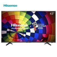 海信(Hisense)LED43EC350A 43英寸 人工智能电视 VIDAA3.0丰富影视教育资源 (黑色高光)