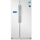 三星(SAMSUNG)545升大容量风冷无霜对开门冰箱 智能变频 节能静音 假日功能 速冻RS542NCAEWW/SC(白)