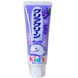 花王(KA0)儿童 木糖醇氟素 防蛀防龋齿 牙膏 葡萄味 70g (日本原装进口)