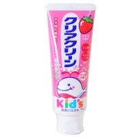 花王(KAO)儿童 木糖醇氟素 防蛀防龋齿 牙膏 草莓味 70g (日本原装进口)