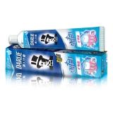 黑人(DARLIE)超白 牙膏 140g(矿物盐)(新老包装随机发放)