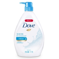 多芬(DOVE)沐浴露 輕柔活膚 滋養美膚沐浴乳1000g