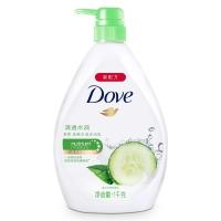 多芬(DOVE)沐浴露 清透水潤 清爽水潤沐浴乳1000g