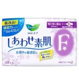 花王樂而雅(laurier)F棉柔纖巧特長日用護翼型衛生巾250mm18片【日本進口】(新老包裝隨機)