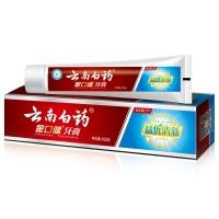云南白药 金口健 牙膏 105g (益优清新 冰柠薄荷)