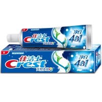 佳洁士(Crest) 天然多效 净白四合一牙膏180g(植物精华 持久净白)