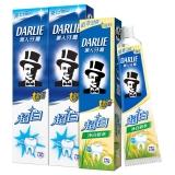 黑人(DARLIE)超白牙膏套装 超白牙膏190g*2+净白稻萃牙膏140g