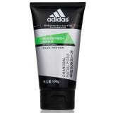 阿迪达斯(Adidas)男士 炭爽洁面膏 劲透控油 100g