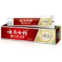 云南白药 金口健 牙膏 105g (口清新 纯青普洱)