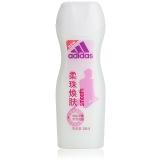 阿迪达斯(Adidas)女士 沐浴露 焕彩健肤柔珠焕肤 250ml(新老包装随机发放)