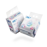 洁柔(CS)抽纸 Lotion丝般柔滑 柔润3层100抽面巾纸*12包(整箱销售 可湿水卸妆)