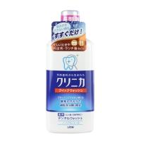 狮王(Lion)齿力佳酵素洁净防护漱口水450ml(新老包装随机发货)(日本原装进口)