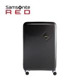 新秀丽(Samsonite)Kharris行李箱万向飞机轮男女旅行拉杆箱可托运行李箱DA9*09002 25英寸珠光黑