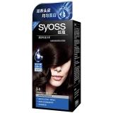 丝蕴(syoss)染发霜3-0晶亮俏黑(护理染后秀发,柔顺光泽)(新老包装随机)
