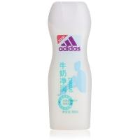 阿迪达斯(Adidas)女士 沐浴露 焕彩健肤牛奶净润 250ml(新老包装随机发放)